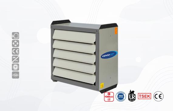 Axial Fan Hot Air Apparatus